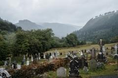 Glendalough, Le cimetière